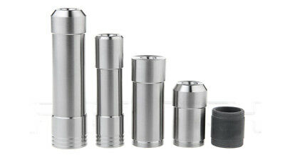 ULTON Satburn Satmod 22mm /17mm Styled Mechanical Mod Kit Silver