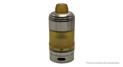 Coppervape Hussar Styled RTA Rebuildable Tank Atomizer Silver