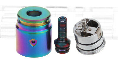 Berserker V2 Styled MTL RDA Rebuildable Dripping Atomizer Rainbow
