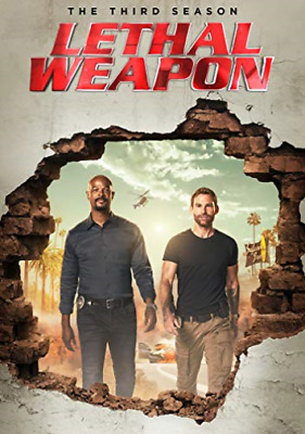 Lethal Weapon The Complete Third Season DVD NEW