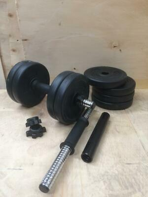 Dumbbells Weight set - 10kg Vinyl Gym Weights for Training, Exercise & Workouts