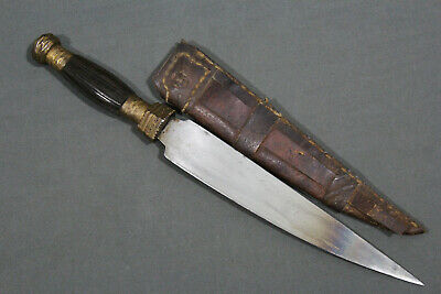 A  Chinese fighting knife - China, late 19th early 20th century