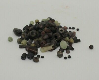 Large Quantity Of Ancient Roman Glass Beads Circa 2Nd Century Ad
