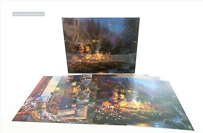 Thomas Kinkade Studios Mickey Mouse Set of 7 Art Prints