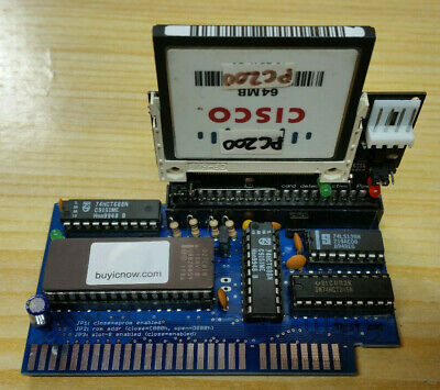 XT ISA 8-BIT TO CF COMPACT FLASH CARD Interface WITH 64MB GAMES SINCLAIR PC200