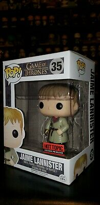Jaime Lannister GAME Of Thrones Funko Pop! #35 Hot Topic Exclusive pre-release