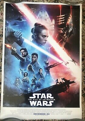 Original STAR WARS The Rise of Skywalker DS 27X40 Movie Theater Poster USA Final