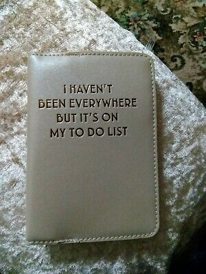 Passport Cover I Haven't Been Everywhere...