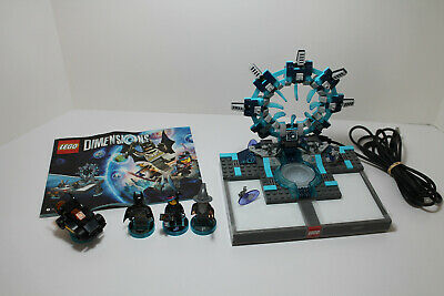 Lego Dimensions Starter Set With Portal Base- 100% Complete W/Instructions