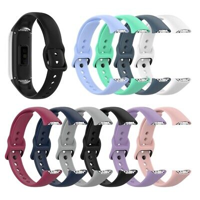 Sport Silicone Band Bracelet Strap Replacement For Samsung Galaxy Fit SM-R370