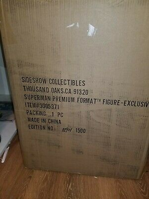 Sideshow Collectibles Superman Exclusive Premium Format