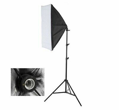 135W Softbox 50x70cm with Light Stand for Photography Studio Photo or Home chic