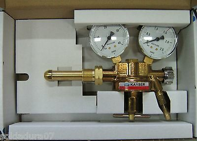 Regulator Flow Metre for Gas Acetylene Welding Autogenous - Made in Germany