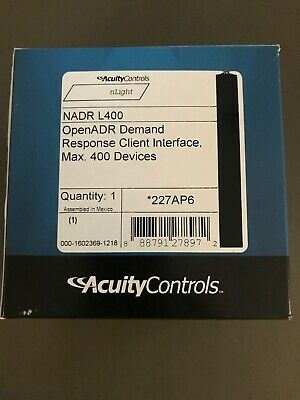 Acuity nLight NADR L400 Demand Response System Interface
