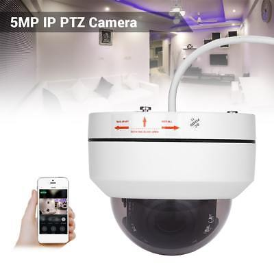 5MP 1080P PTZ IP Camera 4X Zoom Network Security Cameras Infrared Night Vision