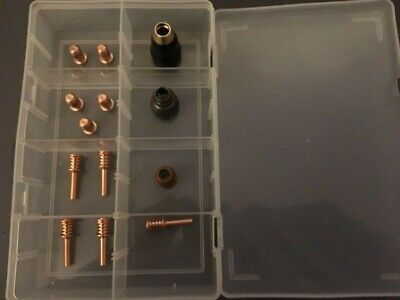 Hypertherm Powermax 30 Air Consumables kit in case 14 pieces Plasma spares