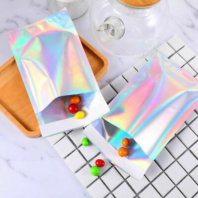 Metallic Holographic Poly Mailers Foil Glitter Bag Mailing Self Sealing Envelope