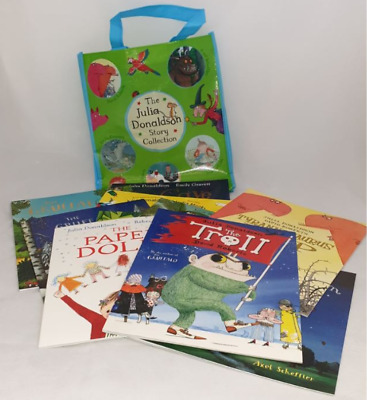Julia Donaldson Collection 10 Picture Books and Illustrated Stories