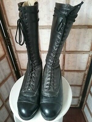 Vintage 1940 Police Boots