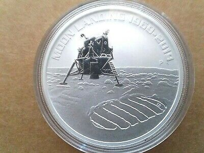 """2019 50th Anniversary of Moon Landing 1oz Silver proof  Coin """"SOLD OUT AT MINT"""""""