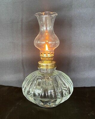 Traditional 21cm Oil Lamp #4S - 500ml - 100+hrs burning time.
