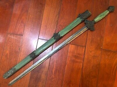 "Collectable Chinese Talisman ""Seven Stars Jian"" Sword Sharp Blade"