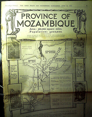 Times - Supplement - Province of Mozambique - 13 juin 1925 - 28 pages