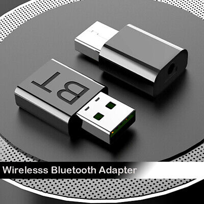 Wireless USB Bluetooth 5.0 Audio Stereo Music Receiver 3.5mm AUX Dongle Adapter