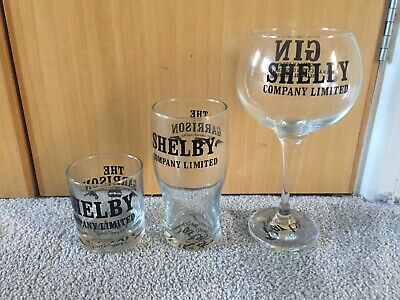 Peaky Blinders Glasses, pint,gin,mixer,personalised,by order of,The Garrison