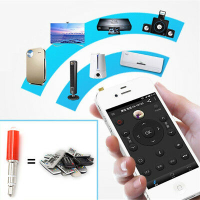 Universal 3.5mm IR Infrared Remote Control Home Appliances For Smart PhoneSR