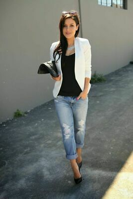 Forever New Luxe Open Front Blazer Jacket Size 16, Sold Out!