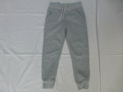 Girls M&S grey sparkly joggers jogging bottoms age 5-6 years