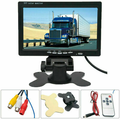 7 inch TFT LCD Color Car Monitor Screen for Rear View Reverse Backup CCTV Camera