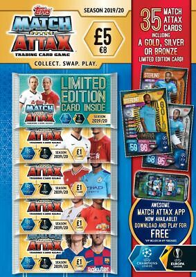 Topps Match Attax Season 2019/20 Trading Card Multi Pack Champions/Europa League
