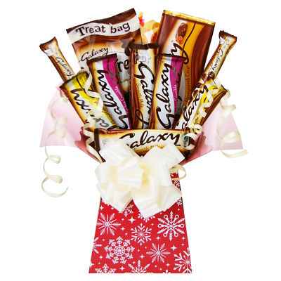 Galaxy Christmas Treats Chocolate Bouquet Tree Explosion Gift Hamper Selection