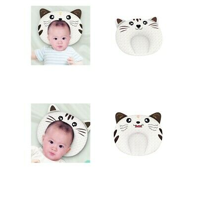 Baby Head Shaping Pillow Latex Infant Sleeping Pillow with Removeable Cover