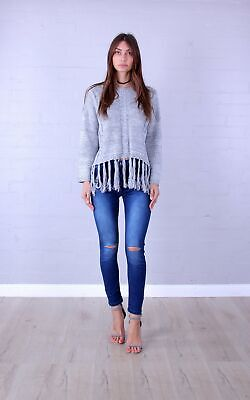 BRAND NEW Rosebullet Blue Jeans with Busted Knees (The Zebra Effect Boutique)