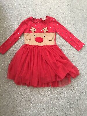 """Girls """"Next """"Christmas party dress Aged 2-3 years"""