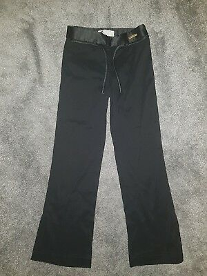 Girls Ted Baker black trousers age 8 (B17)