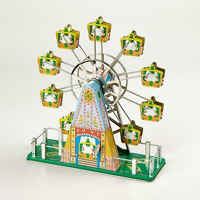 Wind Up Musical Ferris Wheel Christmas Vintage Tin Toy Bedtime Collectable Gift 17 99 Picclick Uk