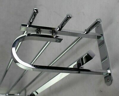 100 cm - Wall Coat Rack - Bauhaus - Art Deco Wardrobe - Coat Rack