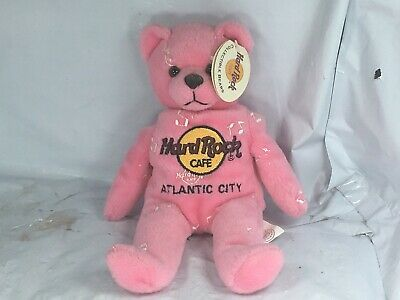 Extremely Rare Hard Rock Cafe Atlantic City Music for Life Beara Rare Authentic