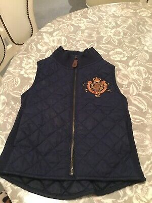 ralph lauren girls gilet