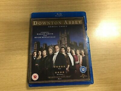 BOXED - Downton Abbey - Series 3 - Complete (Blu-ray, 2012, 3-Disc Set)