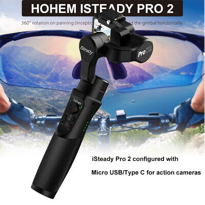 Hohem iSteady Pro 2 Handheld 3-Axis Stabilizer for SJCAM OSM DJI Action Camera