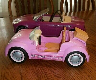 Barbie Convertible Car Lot Sports & Beach Cruiser 2006
