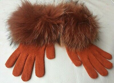 Guanti in pelliccia di Volpe fox fur gloves gants de fourrure Pelzhandschuhe