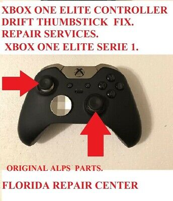 Xbox One ELITE  Controller Repair Service Broken Drifting ThumbStick.