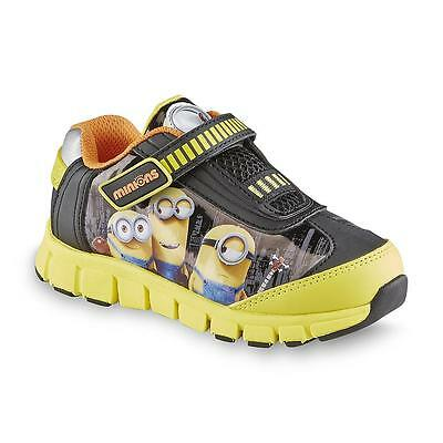 *NEW* DESPICABLE ME MINIONS Athletic Shoes / Sneakers Sz: Youth 2