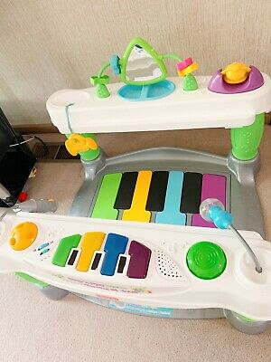 Fisher Price 4-in-1 Step 'n­ Play Piano Playset Baby
